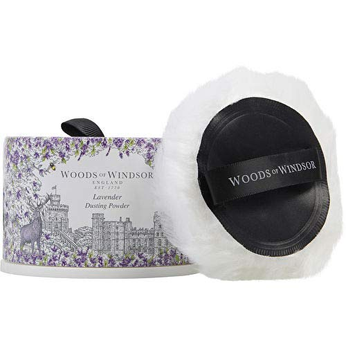 Woods of Windsor Lavender Dusting Powder with Puff, 3.5 Oz