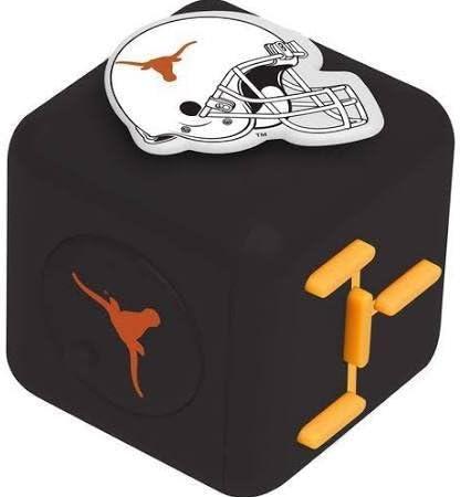 Forever Collectibles NCAA Texas Longhorns Diztracto Cubez