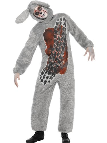 [Smiffys Men's Roadkill Costume] (Roadkill Cat Costume)