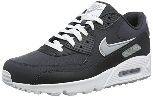 Wolf Grey Multicolore 001 Max 90 Chaussures Anthracite de Air NIKE homme White running Essential 4fwSq
