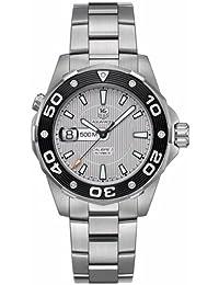 Tag Heuer Men's Aquaracer 500 M Mens Automatic Watch Gray WAJ2111.BA0870