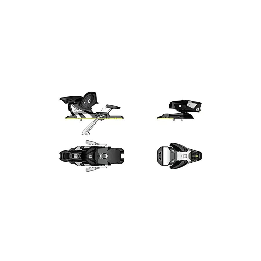 Salomon Sth2 WTR 13 Ski Bindings 2016 100 Mm Brake, Black/white