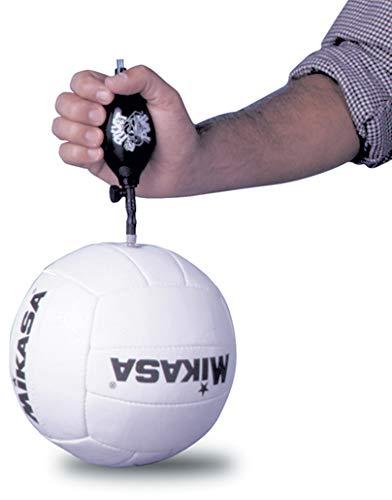 (Pocket Pump Ball Pump with Air Release Valve, Black)