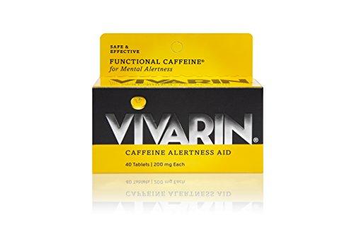 Caffeine Alertness Aid Tablets - Vivarin Caffeine Alertness Aid, Tablets 40 ea (Pack of 2)