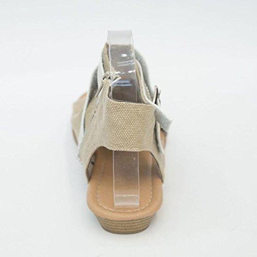 Sandales MML MML Beige 18508 Femme pour qrE6F0r