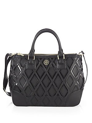 Tory Burch Robinson Patchwork Double Zip Tote 31139784