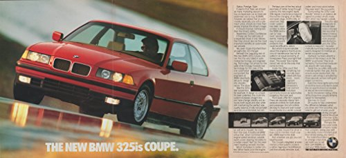 1992 Bmw 325is Coupe (1992 BMW 325is COUPE COLOR AD