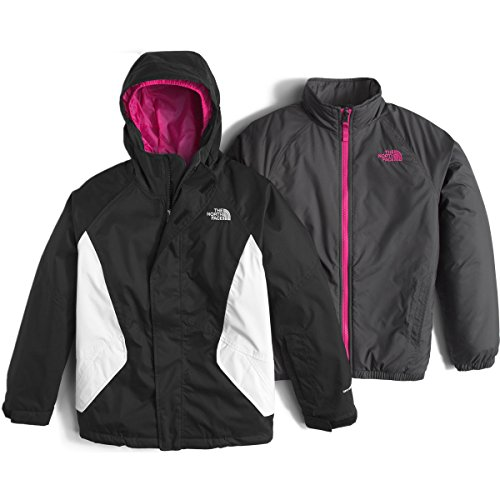 The North Face Kira Triclimate Girls Ski Jacket - Medium/TNF Black by The North Face