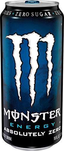 Buy monster energy, zero ultra, 16 ounce pack of 24