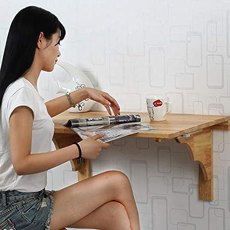 TXX Mesas de computadora plegables simples para colgar en la ...