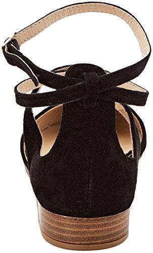 Donna alla Cinturino Nero con Caviglia Ballerine BATA 523239 OfqwIYPB