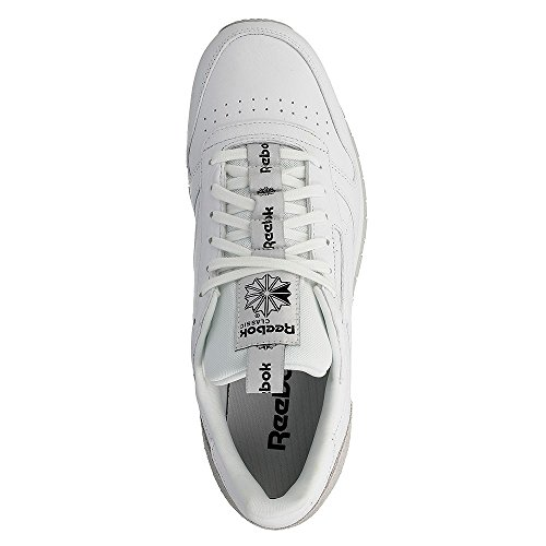 5 Hombre 8226 1 Leather Classic black skull White It Grey Us 12 3 Reebok 84 17475 Guantes wagxdxX