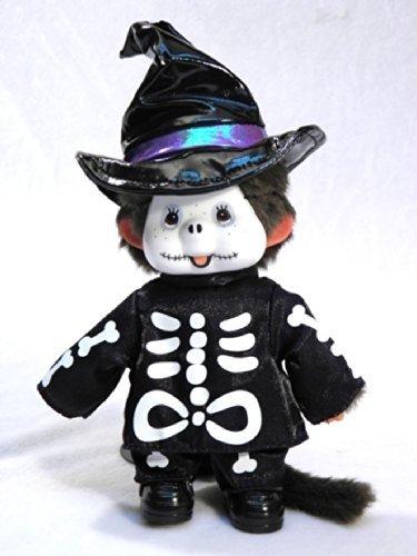 Sekiguchi Authentic Limited Edition Monchhichi Skeleton Halloween Doll 8