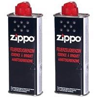 2unidades Original de Zippo Mechero de combustible 125ml