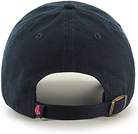 47 MLB Boston Red Sox Clean UP Gorra, Azul (Navy), OSFA Unisex ...