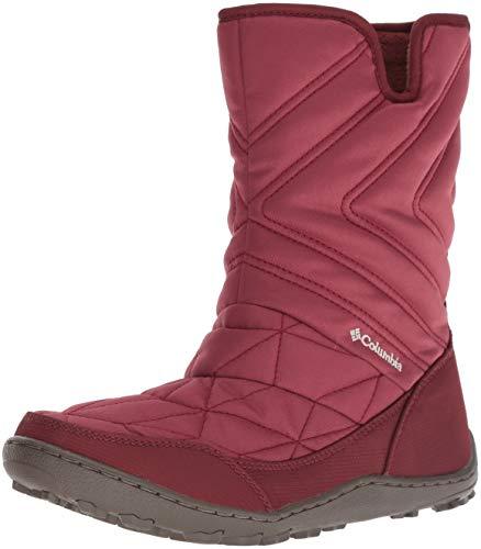 Columbia Women's Minx Slip III Mid Calf Boot, Marsala red, Fawn, 11 Regular US