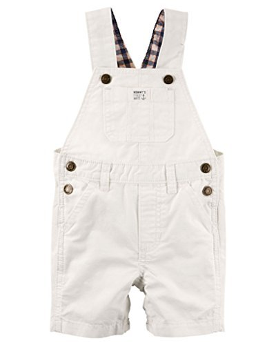 Carter's Baby Boys Ripstop Shortall - 12 Months