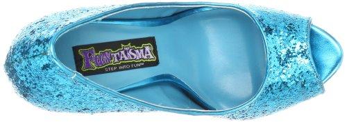 Fabulicious TWINKLE-18G Turquoise Glitter UK 3 (EU 36 )