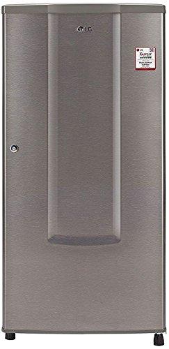 LG GL-B181RDSU.ADSZEBN Direct-cool Single-door Refrigerator (185 Ltrs, 1 Star Rating, Dazzle Steel)