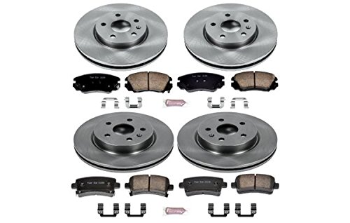 Autospecialty (KOE5515) Daily Driver OE Brake Kit, Front and Rear (Buick Regal Brakes)