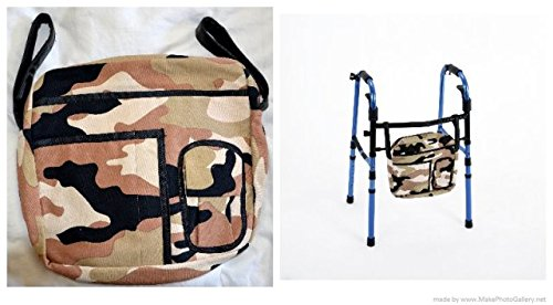 Wheelchair Solutions WWBCAM Walker Bag-Camouflage Pattern