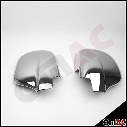 Chrom Spiegelkappen Spiegelabdeckung Spiegelblenden Schutz Für Vito W639 2003 2010 Auto