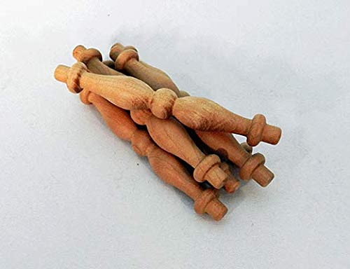 (Cherry Wood Furniture Spindles 1/4