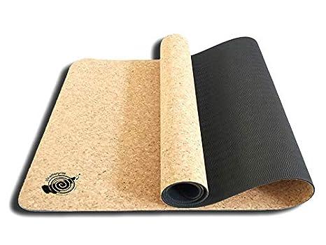 chi-enterprise Esterilla de Yoga con Corcho de 6 mm Aprox ...