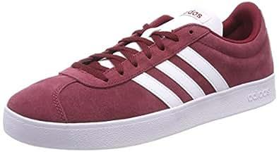 adidas VL Court 2.0 Men's Sneakers, Red, 7.5 UK (41 1/3 EU)