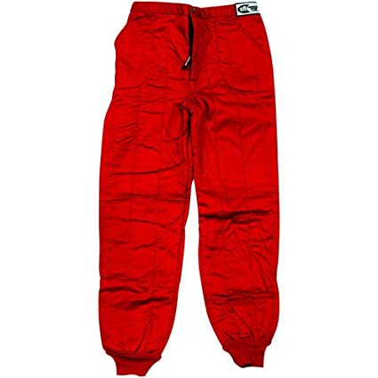 G-Force 4386LRGRD GF 505 Red Large Triple Layer Racing Pants