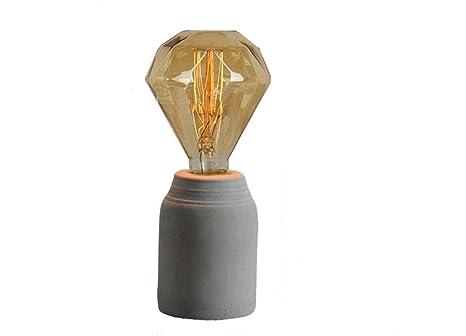 Lampada In Cemento Fai Da Te : Gtb cemento retro della lampada amazon fai da te
