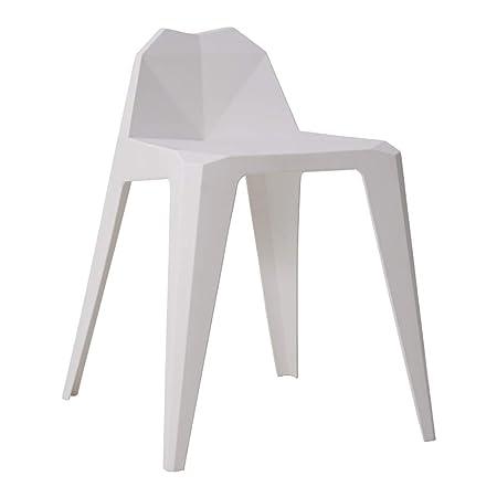 Sedie Impilabili In Plastica.Ailj Sedie Impilabili Moderne E Minimaliste Sedie Da Pranzo In
