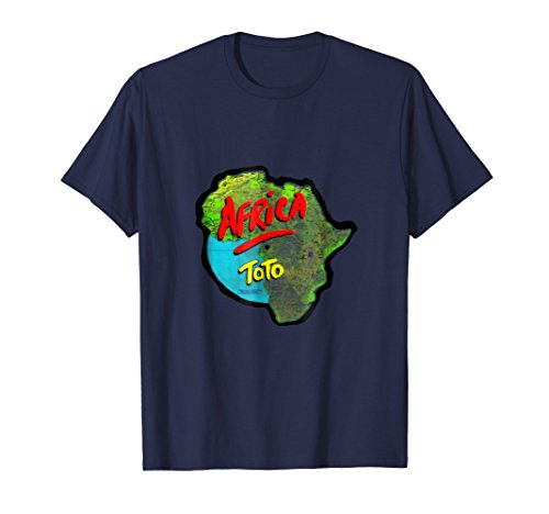 Africa - Lyrics to Bless the Rains on T-shirt by Toto's Africa Shirt