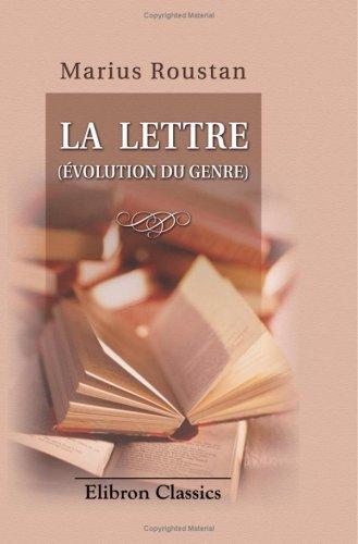 La lettre (French Edition) ebook