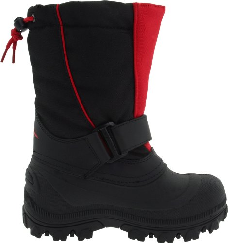 Pictures of Tundra Quebec Wide BootBlack/Red2 W US Little Kid 3