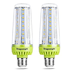 20W Super Bright Corn LED Light Bulbs(200 Watt Equivalent) – 3000K Warm/Soft White 2320 Lumens E27 Base for Large Area…