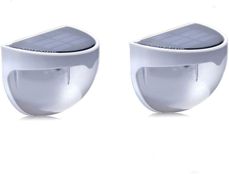 YANGSANJIN Luces solares para Exteriores, Luces de Pared LED para Exteriores, Gran Angular, sensores de Movimiento y Jardines con Foco Solar, Patios, garajes, Carreteras