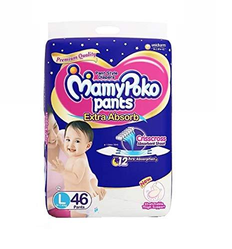 MamyPoko Pants Extra ADSORB Diaper L  46 Pieces