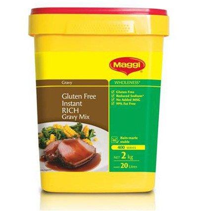 Maggi Libre de Gluten Rica Mezcla de Salsa de carne 2kg: Amazon.es: Alimentación y bebidas