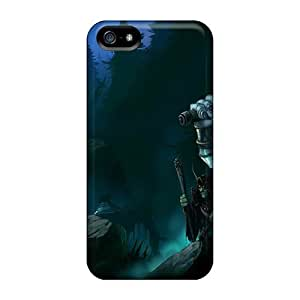 Tough Iphone Ytf21817NpAb Cases Covers/ Cases For Iphone 5/5s(games World Of Warcraft Trolls)