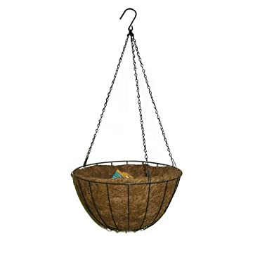 Panacea 88503 Growers Series Hanging Basket, Green, 14-Inch