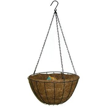 Panacea 88503 Growers Series Hanging Basket, Green, 14-Inch