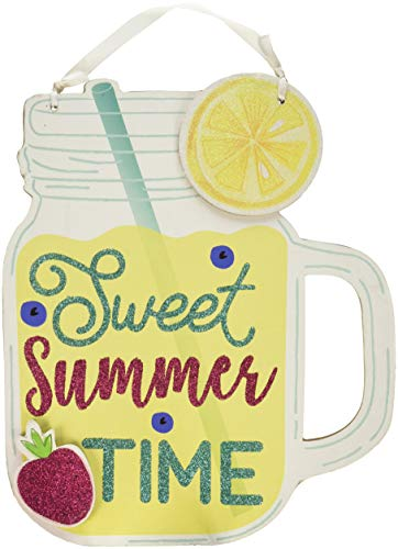 Amscan Sweet Summertime Sign, |Summer Home Wall Art Decor