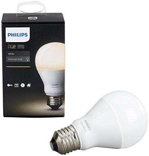 Philips Hue White A19 Single Bulb, Apple HomeKit compatible