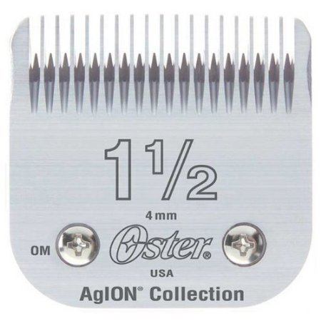 Oster Professional Detachable Clipper Replacement Blade, Size #1 1/2 - Hair Clipper Replacement Blades
