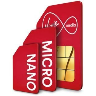 Virgin Mobile Canada Multi SIM Card