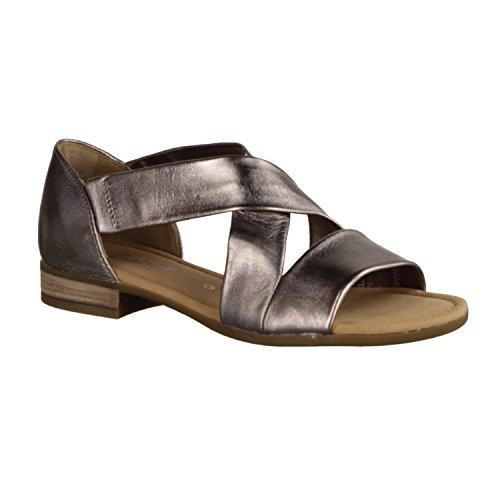 Gabor Sweetly Sandal 62.761 PEWTER