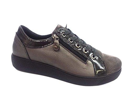 Enval Soft donna Sneaker 69891 piombo