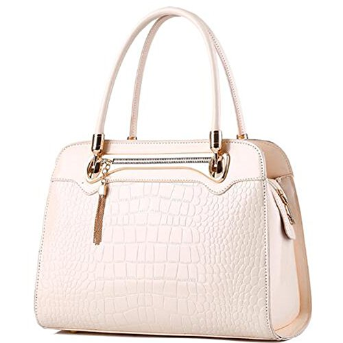 2016 New Bright Hight-grade Crocodile Pattern Women Lady Handbag Shoulder Bag