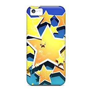 For Iphone 5c Tpu Phone Case Cover(multistars)